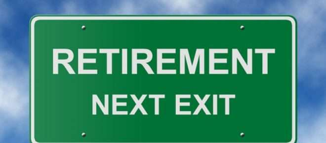 "Highway sign of ""Retirement Next Exit"""