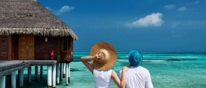 vacation with blue ocean