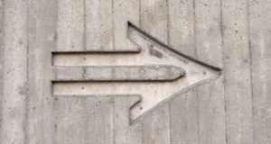 grey arrow
